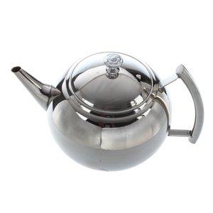 2000ml Paslanmaz Çelik Çaydanlık Çaydanlık Kahve ile Tea Leaf Filtre demlik, 25 * 15 * 17cm
