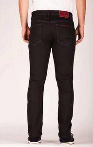 Brun ** nelli jeans pour hommes 2018 automne hiver nouvelle mode épaisse pantalon décontracté confortable