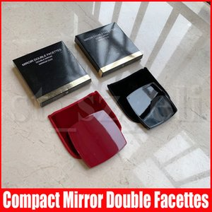 Famous Portable Pocket Makeup Compact Mirror Woman Cosmetic Mini Beauty Normal Mirror Double Facettes Mirror Duo8*8cm