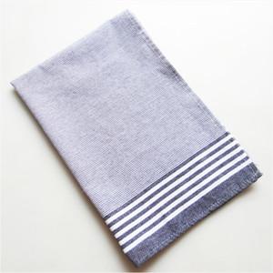 5pcs clássico preto e branco toalha listrada, toalha de mesa, toalha de chá simples estilo nórdico toalha tampa de cozimento pano de fundo da listra