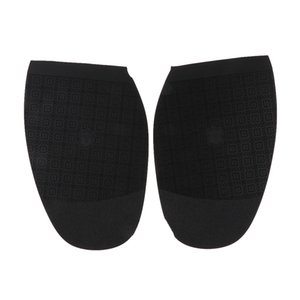 Anti Slip Shoe Repair Tools Pad Heel Replacement Rubber Bottom Heels and Half Soles, Black