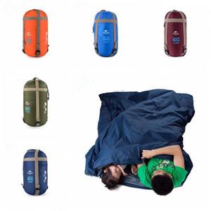 Saco de dormir ao ar livre portáteis Envelope Mini sacos de dormir Travel Bag Caminhadas Camping engrenagem equipamento ao ar livre dormir Pads DYP350 Atacado