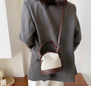 디자이너 여성 숄더 토트 럭셔리 기질 스크럽 버킷 가방 걸쇠 미니 핸드백 새 스타일 레이디 데이트 버킷 가방 // (35)