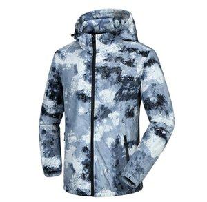 2020 New Autumn Men's Camouflage Jackets Male Hoodie sports Jacket coat Mens Windbreaker Zipper Baseball windbreaker Outwear Plus Size M-5XL