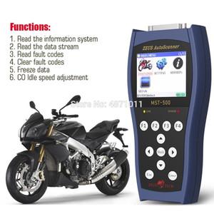Akıllı Desteklenen Tarayıcı MST-500 Hata Kodu Okuyucu Motosiklet Teşhis Tarayıcı El En Asya Motosiklet Update Online