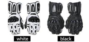 SSpec moto in fibra di carbonio guanti di pelle caldo guanto protettivo impermeabile di corsa dei guanti di motocross Cavaliere glvoes bicicletta tutti i giorni