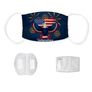Tasarımcı yüzü açık hava spor 3D bayrak çalışan spor unisex bayrak maskesi maske dijital baskı Amerikan bayrağı maske
