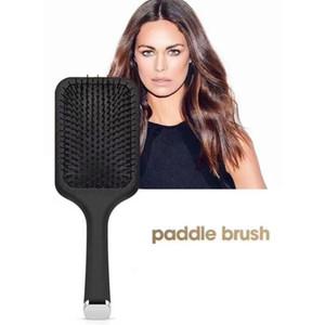 Новый выпущенный 9hd Paddle Щетка для волос Воздушная подушка комбинированная комбинированная комбинированная комбинированная щетка для выпрямления волос утюг с розничной коробкой Бесплатная доставка