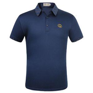 2020 men's business casual short-sleeved golf Shirt, sweat absorbent menLuxuryDesignerBrand1IGG T-shirt I1