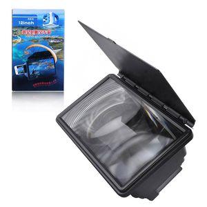 Screen Video Cellulare Magnifier HD regolabile da 12 pollici Amplificatore ad alta definizione aggiornata di film 3D di visualizzazione Expander acrilico supporto del basamento