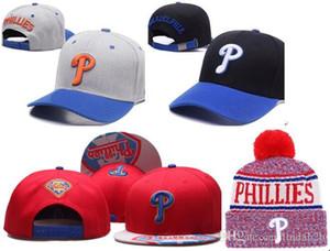 2019 Phillies Şapka Snapback Şampiyonlar Phillies bere Tüm Takımlar Erkekler kadınlar Örme Beanies Yün Şapka Man Örme Bonnet Beanie Gorro Cap Isınma