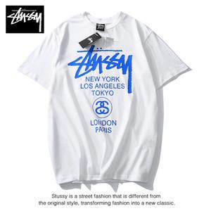 Mens Designer T Camisa de Verão Da Marca Respirável Solto T Camisas Para Homens E Mulheres Casal Designer Hip Hop Streetwear Tops Tees De Luxo