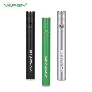 Authentique Vapen 420 Préchauffez VV batterie 420mAh tension variable réglable avec charge micro USB pour 510 ego épais huile Vape cartouches réservoir