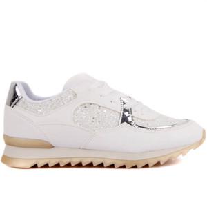 Moxee-White con cordones de las mujeres zapatos casuales