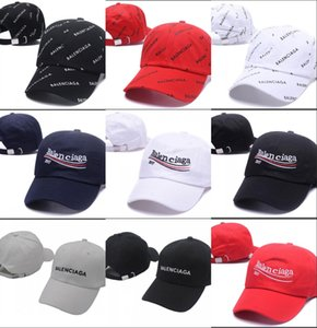 2019 kpop VETEMENTS Grande Paizinho 18FW BNIB Branco Unisex Logotipo boné de Beisebol Ajustável pai snapback tático chapéu gorro cap chapéus casquette de luxo