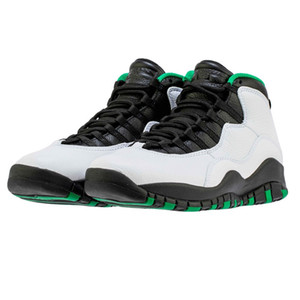 10 Seattle Herren-Basketball-Schuhe 310805-137 City Pack 10s Camo Tinker Steel Grey Ich bin Schwarz Jumpman Trainer des chaussures Schuhe Schuhe