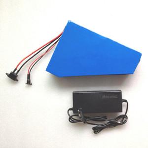 водонепроницаемый высокое качество электрический велосипед треугольник батарея 48В 20ah 18650 батарей 400 Вт до 1300 Вт двигатель с зарядным устройством и сумка