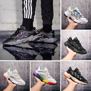 2019 Reflective Xeno Ozweego Para Homens Mulheres velocidade Calabasas Running Shoes instrutor Designer Sports Designer Sneakers Chaussures