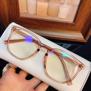 Hotsale 8931 mujeres Anti-Bluelight GlassesFrame 51-19-142 UV400 ligeros tablón Borde para gafas graduadas gafas de telefonía por ordenador
