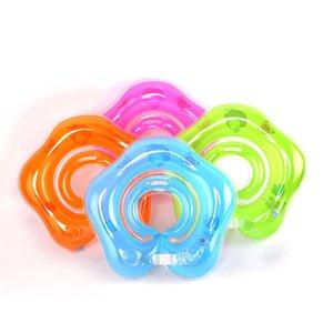 Swimming Pool aufblasbarer Kreis Baby-Schwimmen-Ring Sicherheits Infant Neck Float Kreis aufblasbare Schwimmen Matratze Pool-Party-Spielzeug