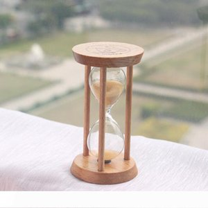 B Fashion 3 Mins Wooden Frame Sandglass Sand Glass Hourglass Time Counter Count Down Home Kitchen Timer Clock Decoration Gift
