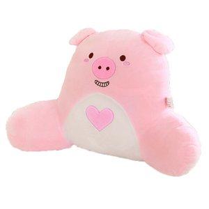 Les fabricants de gros beaucoup la production directe de étrennes nouveaux jouets en peluche oreiller lombaire animal dessin animé