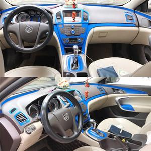 Centre auto-Styling en fibre de carbone voiture Intérieur Console de changement de couleur Moulding Sticker Autocollants Pour Buick Regal Opel Insignia 2009-2013