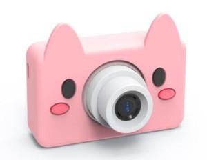 1.8 pollici Mini macchina fotografica digitale DIgital per bambini Baby Cartoon sveglio multifunzione giocattolo fotocamera bambini compleanno 1 pz