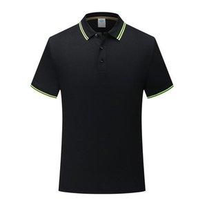 Hommes et femmes de fine classique rayé col eucalyptus fiber polyester fiber POLO Shirt Noir À Manches Courtes T-Shirt SD-7902-206