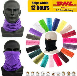 US STOCK! Cycling Unisex Magic Head Face Protective Mask Neck Gaiter Biker's Tube Bandana Scarf Wristband Beanie Cap Outdoor Sports FY7026