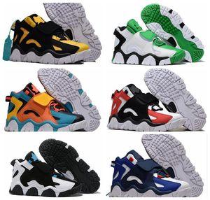nike air Barrage Mid QS Basketball Schuhe Sneakers Raptors Hyper Grape Classic Rams Cabana Grau Herren Damen Herren 2019 Neue Designer Trainer Schuhe