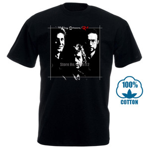 Mans Unique Cotton Short Sleeves O Neck T Shirt King Crimson Men&#039 ; S Red T Shirt Black