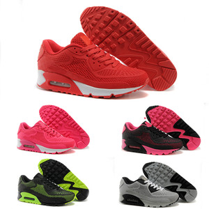 Nike Air Max 90 KPU 2017 High Quality casual Shoes Cushion Alr 90 KPU Mens Classic 90 casual Shoes Trainers Sneakers Man Walking Sports tennis Shoes