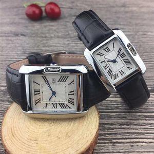 Nouveau couple de femmes luxe Montres Hommes Or Quartz classique montre-bracelet de cuir Mode pour hommes pour femmes le plus relogios cadeaux Saint-Valentin