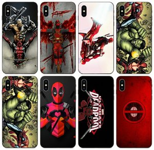 [TongTrade] Spiderman Ve Deadpool Kılıf Apple iPhone 11 Pro X Xs Max 8'ler 7s 6s 5 Samsung J2 J3 J5 J7 Prime Huawei P8 HTC 530 Kılıf Desire