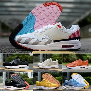 off Air New White 1 Mens walkning Shoes Classic Maxes Men 1s walkning Shoe Black Grey Sport Sneakers Casual Shoe Outdoor Jogging shoes