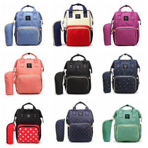 Mami mochilas 10styles Madre Paquete de bolsas para pañales Pañales Camo a prueba de agua de maternidad de enfermería bolsos bolsas de viaje al aire libre LJJA3501-13