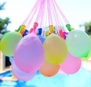 1Pcs = 111balloon Bunte Wasser gefüllten Ballon Bündel Luftballons Magischen Wasser-Ballon Bomben Spielzeug Wasser Ballons Spiele Spielzeug Füllung