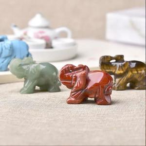 Новая мода украшение Малого слона Любители домашнего декор Crafts Комната Kawaii Фарфор Украшение Brief Современные животные Фигурка украшение