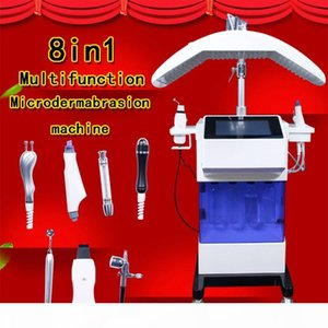 2019 New arrival! high quality Water Hydrafacial Dermabrasion Skin Deep Cleansing LED PDT Oxygen Jet skin scrubber BIO Face Lift Ultrasonic
