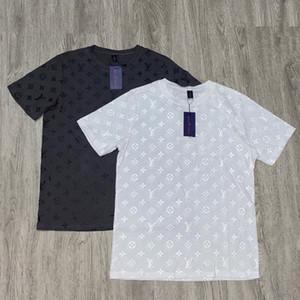 2020 USA ocasional de las mujeres del diseñador tees mujeres blusas de manga corta de algodón de alta densidad de verano materiales de nivel superior detalle perfecto camisetas