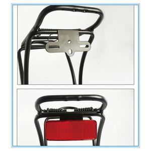 La vendita calda della bicicletta Rack Tail Attenzione sicurezza Attenzione Reflector Disc Carrello riflettente posteriore bicicletta accessori della bici luce luce