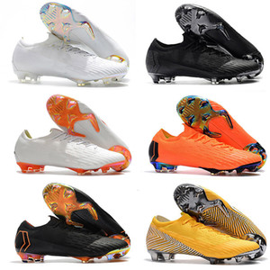 2020 Newest Kids Women Mens Mercurial Vapers XII Elite FG CR7 SE Football Boots High Quality Superfly VI Elite FG 360 LVL UP Indoor
