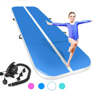 (4M5M6M) * 2M * 0.2M Gimnasia inflable AirTrack Tumbling Air Track Floor Trampoline para uso en el hogar / Entrenamiento / Cheerleading / Playa