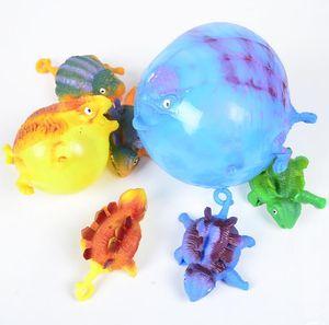 Dinosaur Balloon palla divertente Blowing Farm Animals Giocattoli per bambini Kids Party Balloons TPR Ansia di distensione della tensione Balls