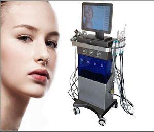 9 IN 1 Hydra Facial Machine RF skin rejuvenaiton Microdermabrasion Hydro Dermabrasion Bio-lifting wrinkle removal hydrafacial MD Spa Machine