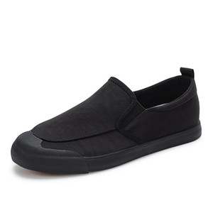 Schwarze Schuhe Herren Sneakers Mens Casual Loafers Mode Jugend-Turnschuhe Licht Verschleißfeste Grau Herren Schuhe Alpargatas Esparto