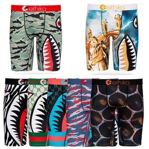 top 2020 Ethika Boxers Men Underwear tubarão Boca Boxer Men Underwear Homme Todos os dias Boxers resistentes Arrefecer Sports Calças Curtas