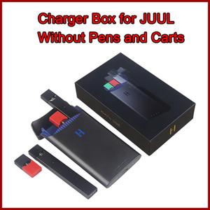 E Cig Ladegerät Fall 1500mAh Power Bank Portable Ladegerät Box Closed System Cpmpatible mit JUUL Pods Heißer Verkauf in Amazon