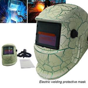 Freeshipping ajustável Solar Máscara Auto escurecimento Welder Proteja Welding Helmet Mounted-Head para Moagem Gota